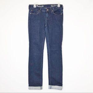 MADEWELL | Rail Straight Denim Tall Jeans 27 x 34
